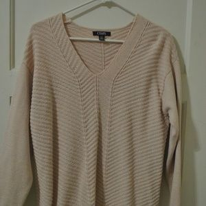 Baby Pink Sweater with sparkle